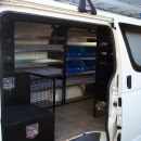 Plumber Fit Out with Custom Slide Drawer System - Hiace