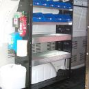 Electrician Trade Shelving Kit + Hygienic Unit - Mercedes Benz Vito