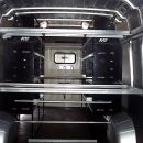Custom Designed Fit Out for Oil Sales & Delivery Van with Fold Away Bench - Ducato