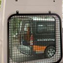 Telecommunications Van with auxillary 12 & 240V power, huge workbench, lockable storage, auxillary lighting and handy wash station, rear window security guards - Ford Transit MWB ref:kpg175