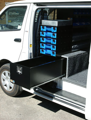 Kat Van And Ute Slide Cargo Drawer Systems For All Work