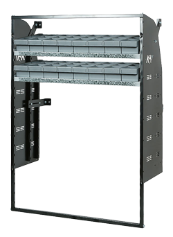 Adjustable DIY Van Racking Kits available Perth Tasmania Darwin Adelaide
