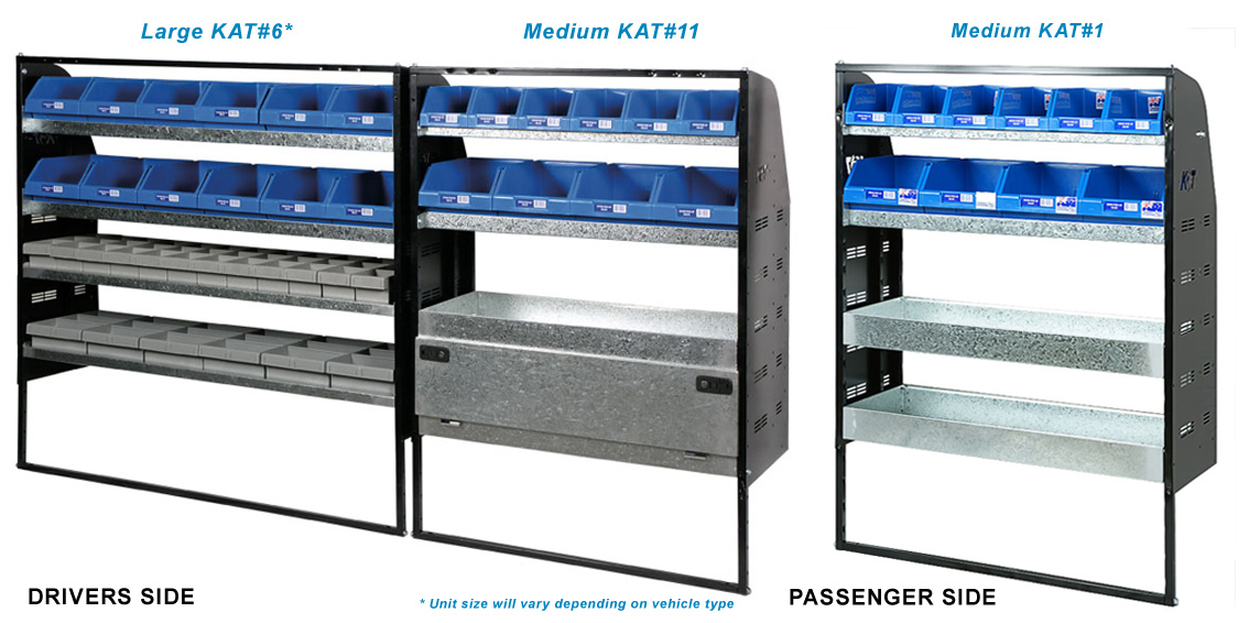 23a3581905 KAT - Affordable Van Shelving Systems and Accessories For All Trade ...