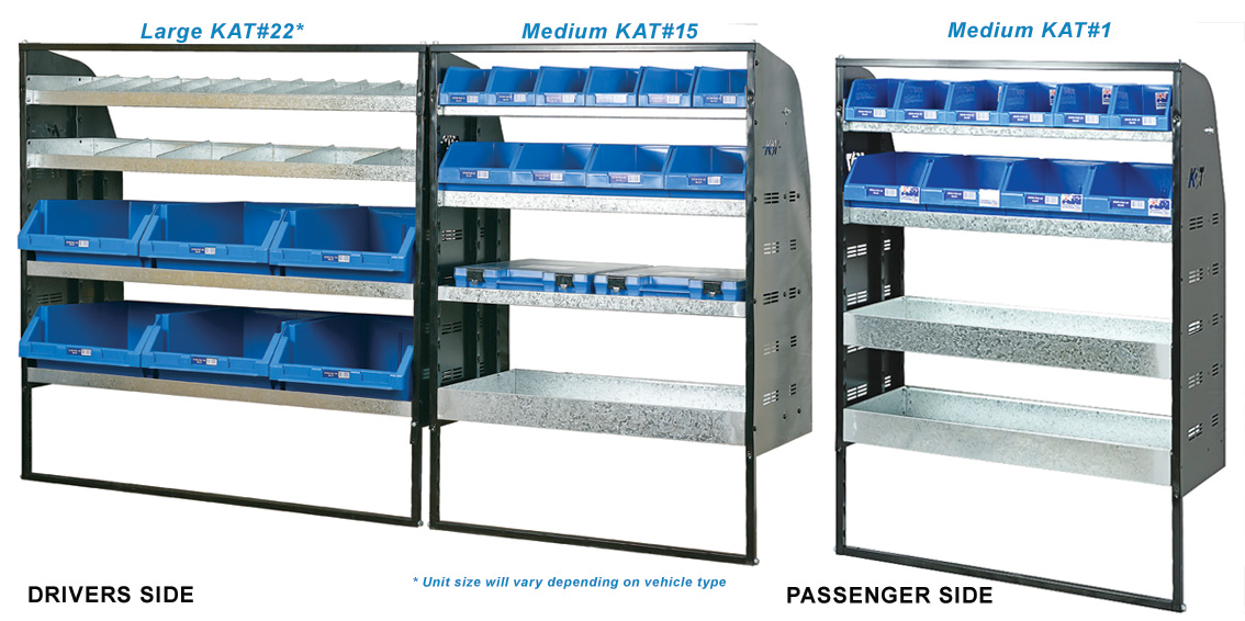 KAT Affordable Van Shelving Systems And Accessories For