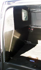 KAT Vehicle Shelving - Sealed Partitions for commercial vans